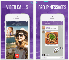 Viber joins the video call party with latest version of iOS ...