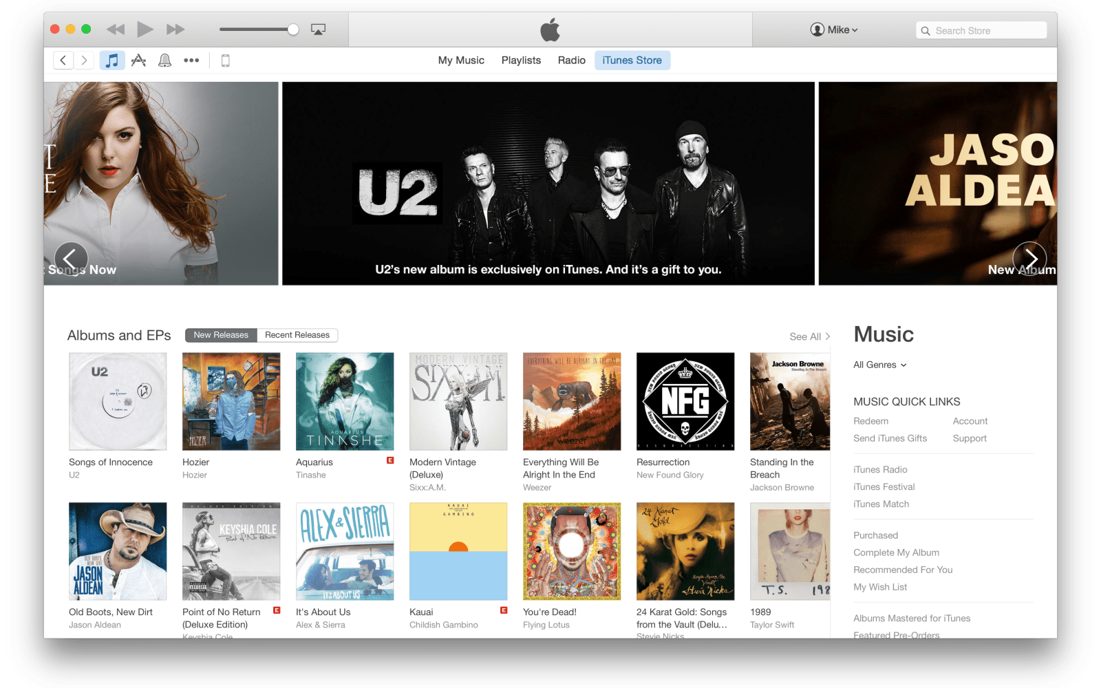 Apple begins rollout of redesigned iTunes Store ahead of OS X Yosemite launch