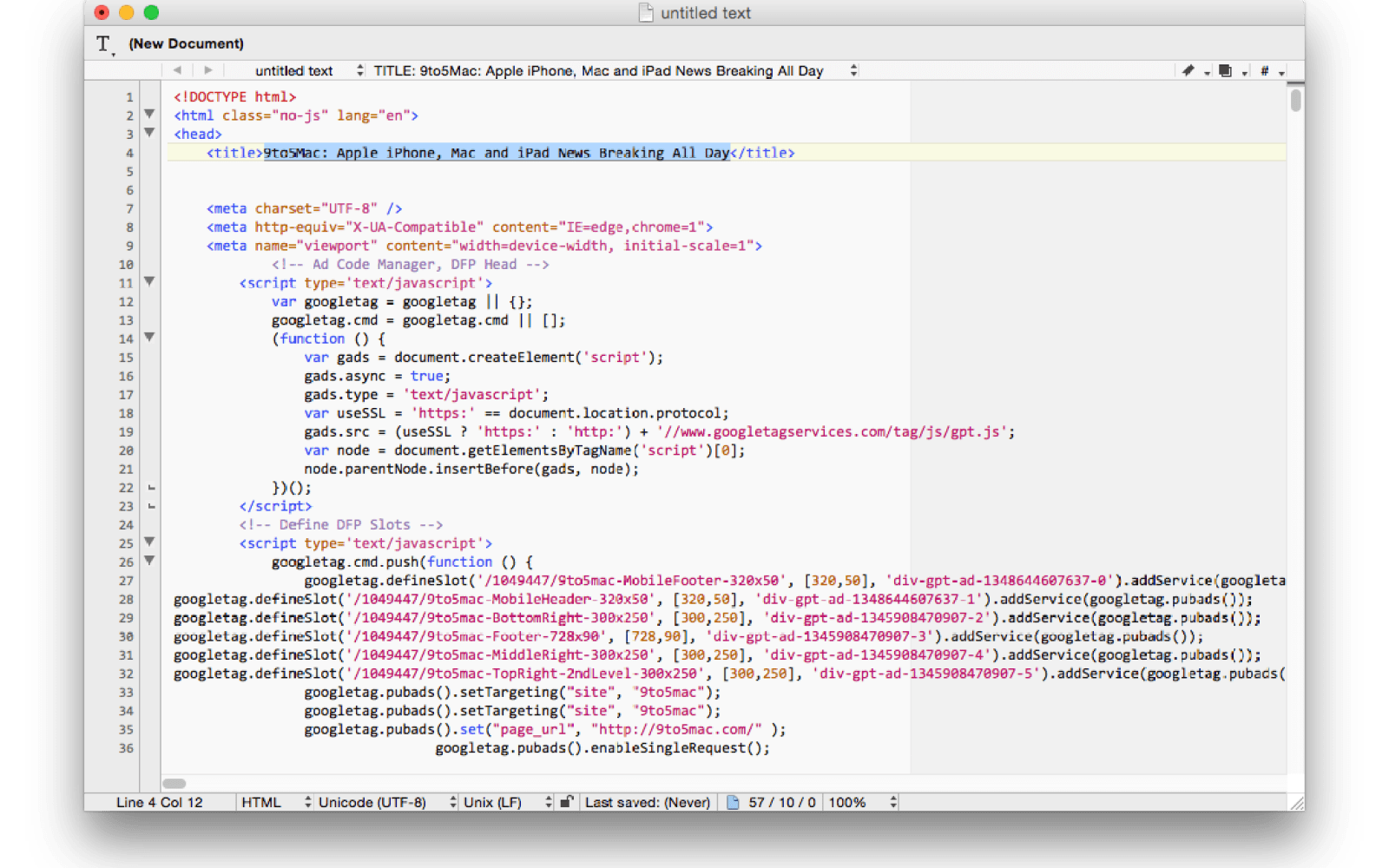 BBEdit 11 released with updated clipping system, text extraction tool, and more
