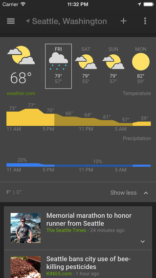 Google rolling out 'News & Weather' app for iOS