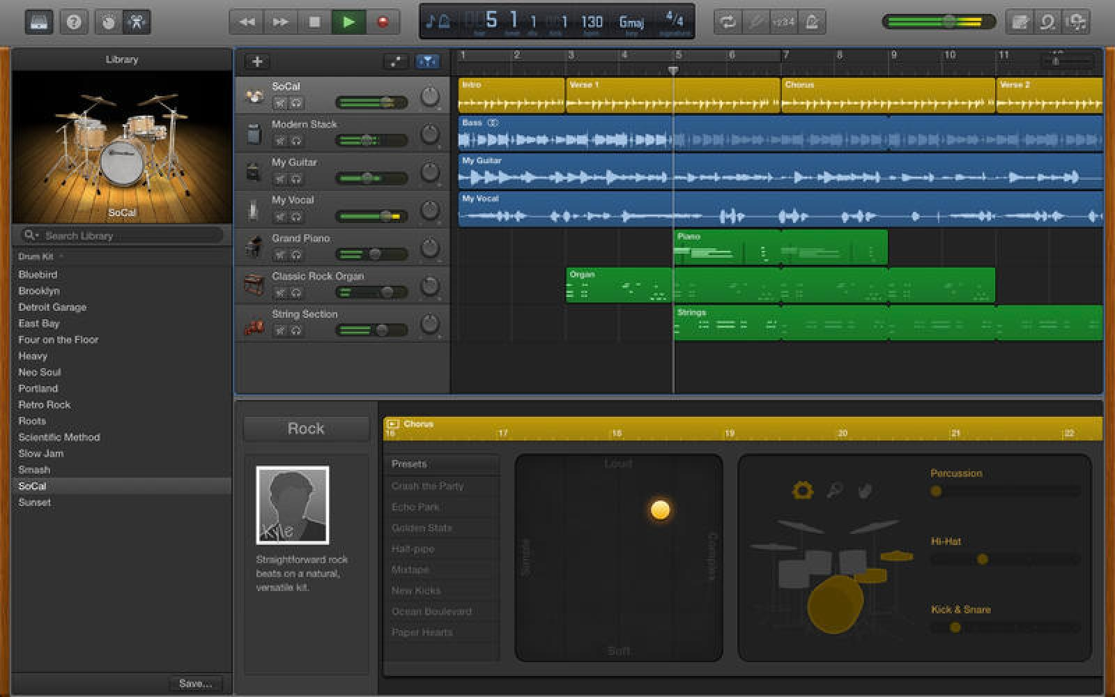 Apple updates iMovie and GarageBand for OS X Yosemite with new features and design
