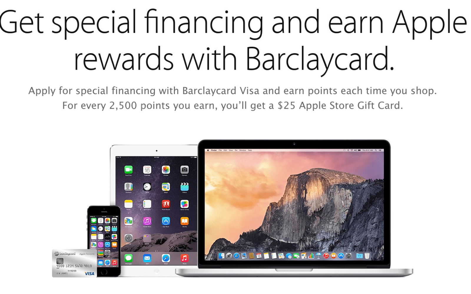 Apple & Barclaycard offer new Visa rewards card w/ Apple Store credit, chip-and-pin, & updated financing options