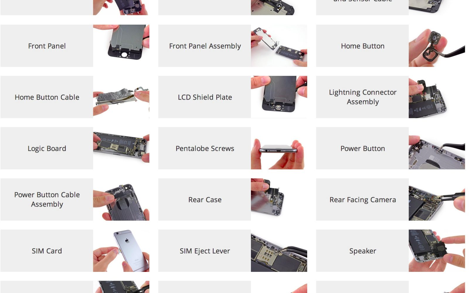 iFixit: How to fix your iPhone 6 or 6 Plus in 21 easy guides