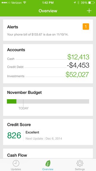 Intuit's Mint iPhone app updated with faster personal finance tracking including fees, alerts, more
