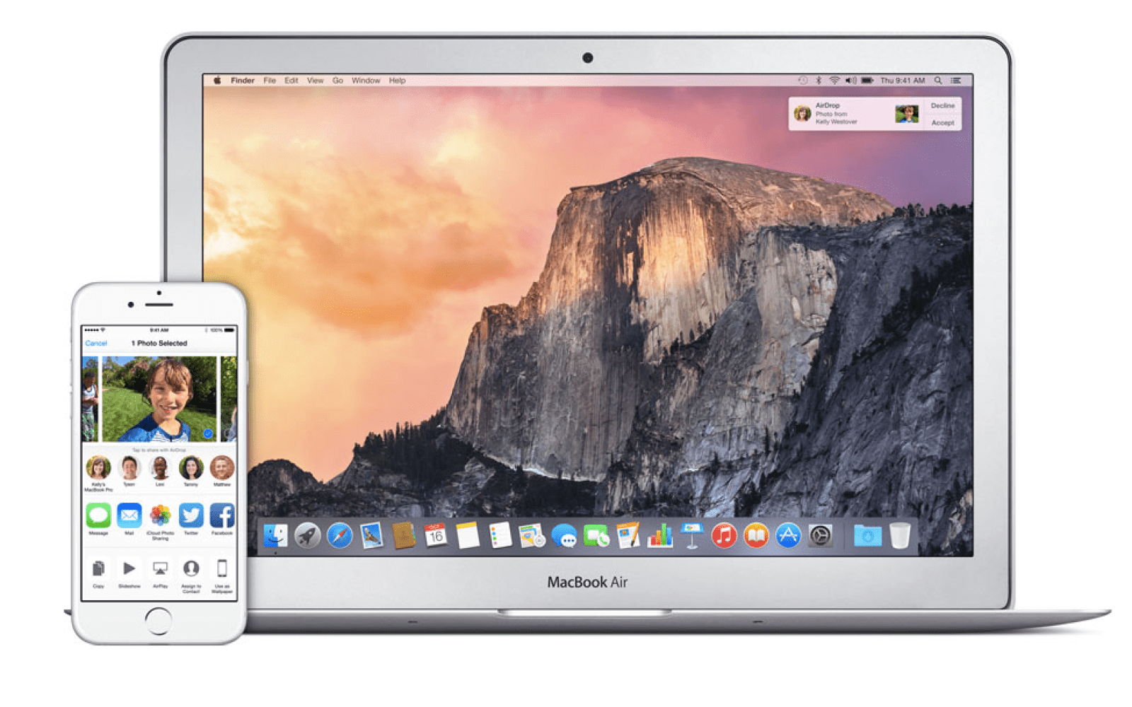 Yosemite Ios 8 How To Set Up And Use Airdrop 9to5mac