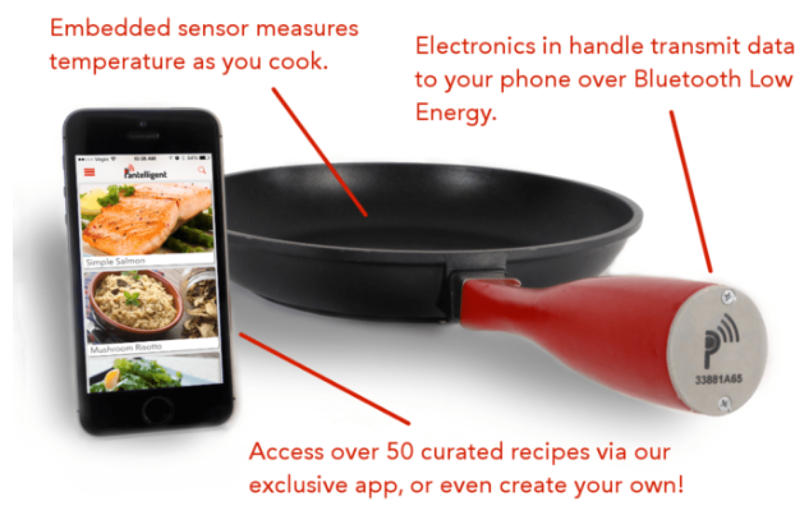 The latest contender for your automated kitchen: the $200 smart frying pan