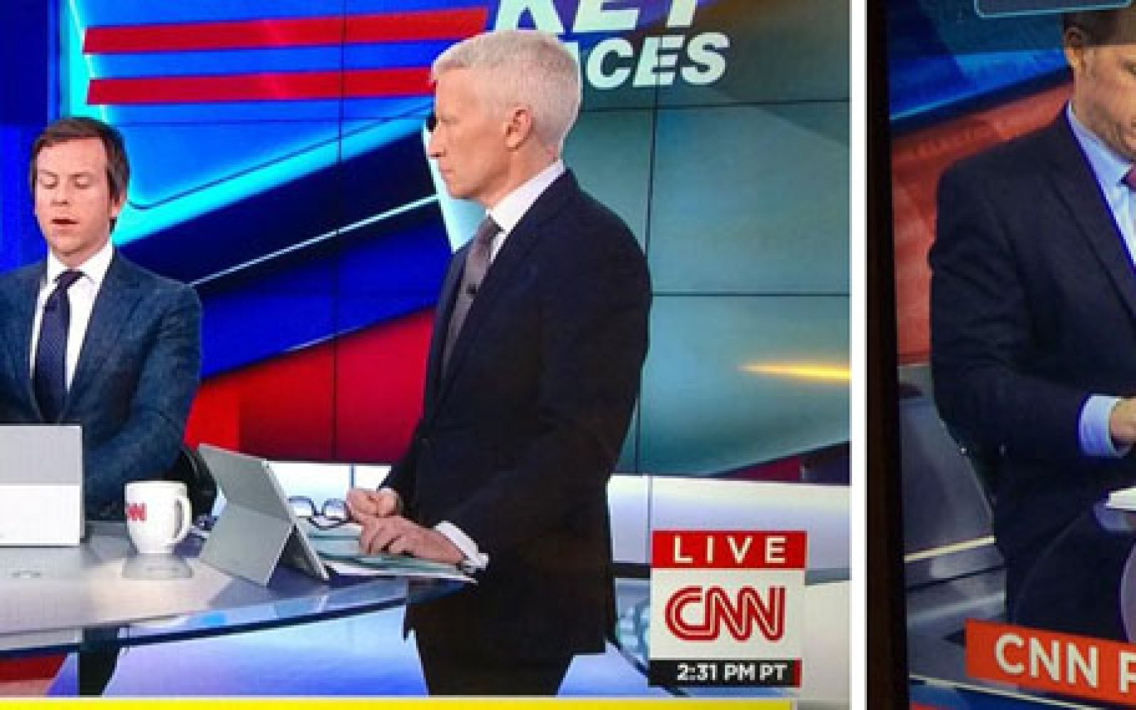 Microsoft Surface product placement in CNN election coverage fails as iPads revealed behind them [Updated]