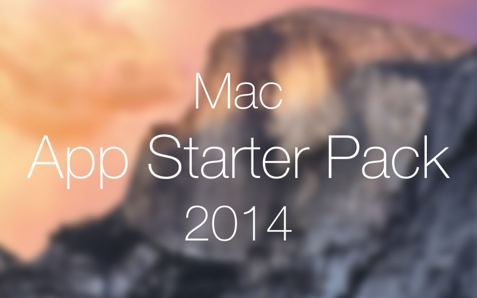 Mac Starter Pack: unleash your iTunes gift card and upgrade your Mac with these great apps