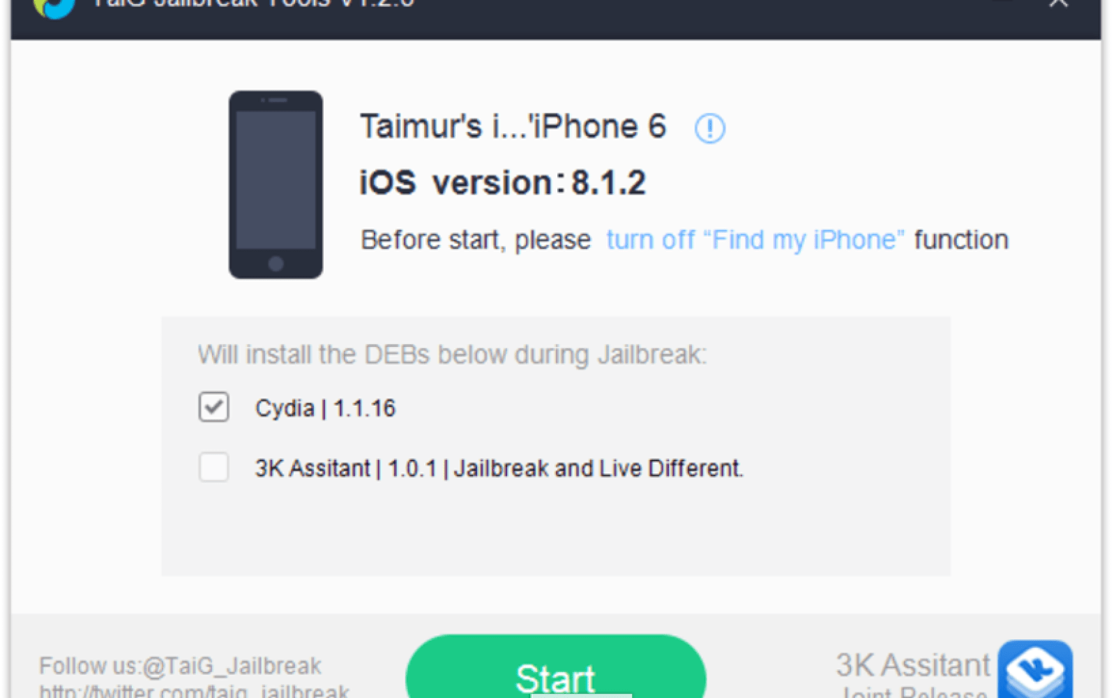 TaiG jailbreak almost instantly updated for iOS 8.1.2, download available now