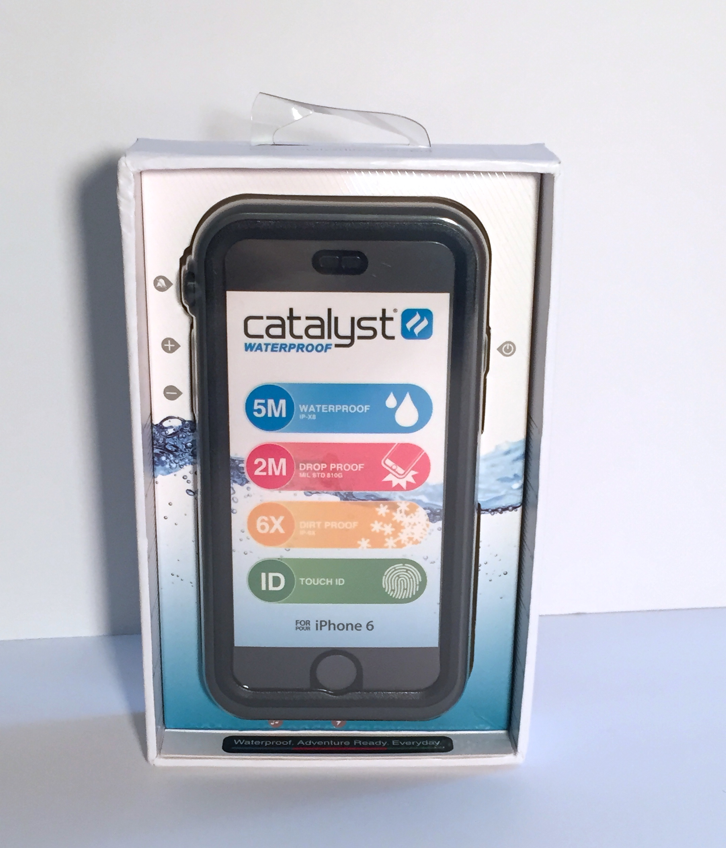 Apple Iphone Silicone Case Mist Blue   Review catalyst for iphone offers  protection for your active b166ae94be7