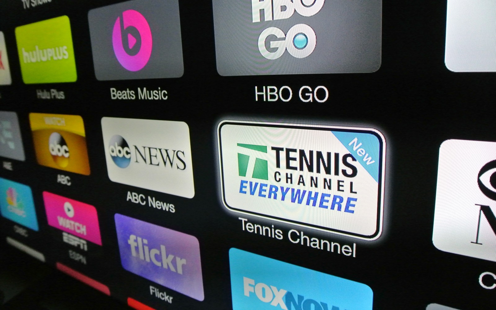 Apple TV content refresh serves up Tennis Channel Everywhere