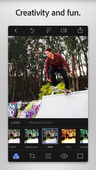 Photoshop Express iPhone 3