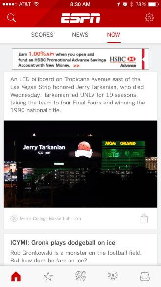 ESPN iPhone 3