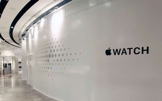 Apple Watch barricade 1