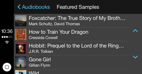 Audio Books CarPlay 1