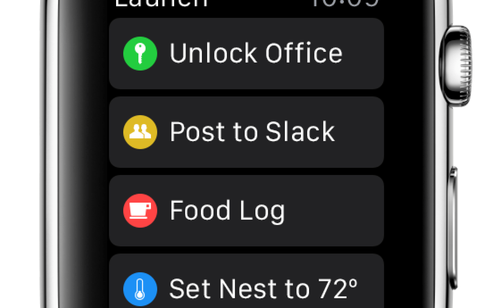 Launch Center Pro is coming to the Apple Watch