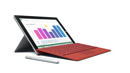 Surface 3 with available accessories