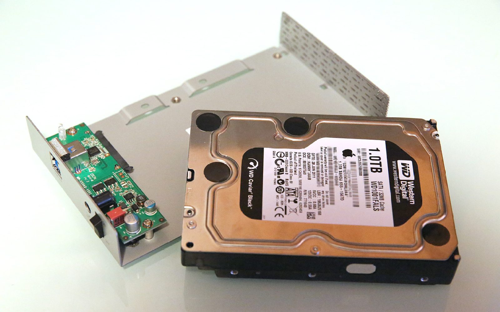 How To Reclaim Your Macs Old Hard Drive Or Build A New One With An Sata Usb Wiring Diagram External Enclosure
