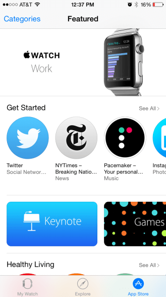 how to make a clickable appstore badge