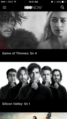 HBO NOW apps 2