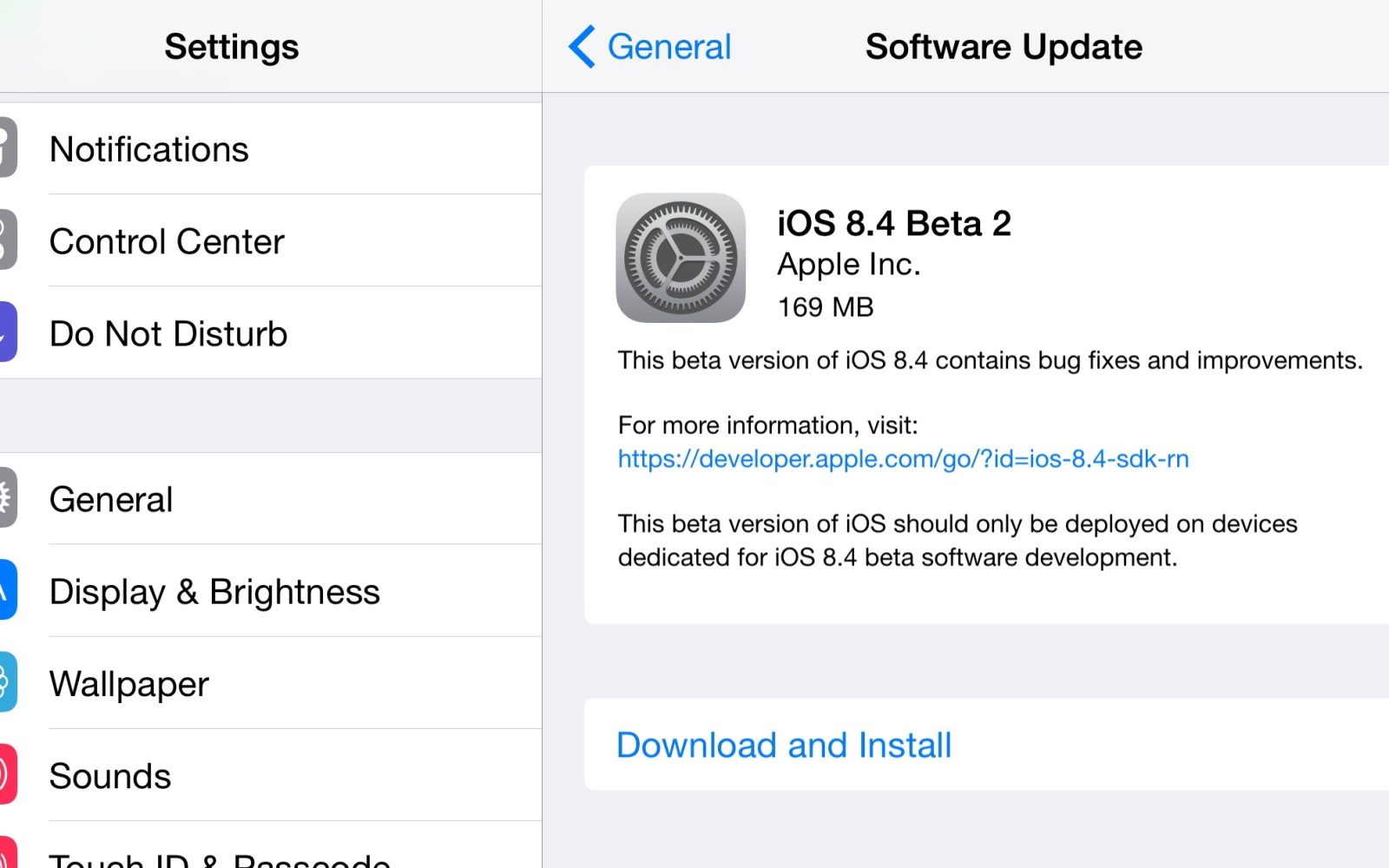 Apple releases iOS 8 4 beta 2 to developers with revamped
