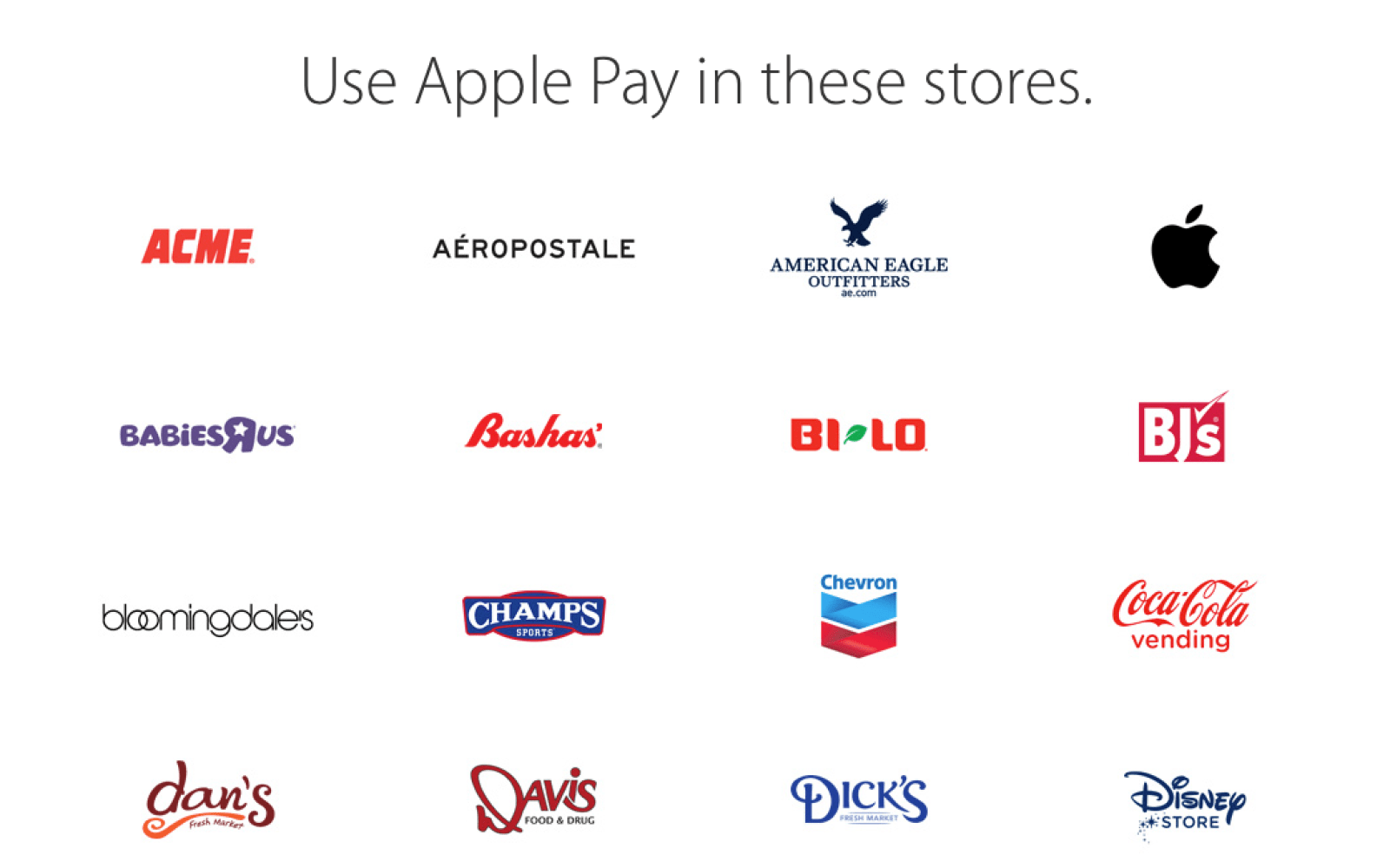 Apple adds 10 new retailers to Apple Pay website, brings total to 68 merchants