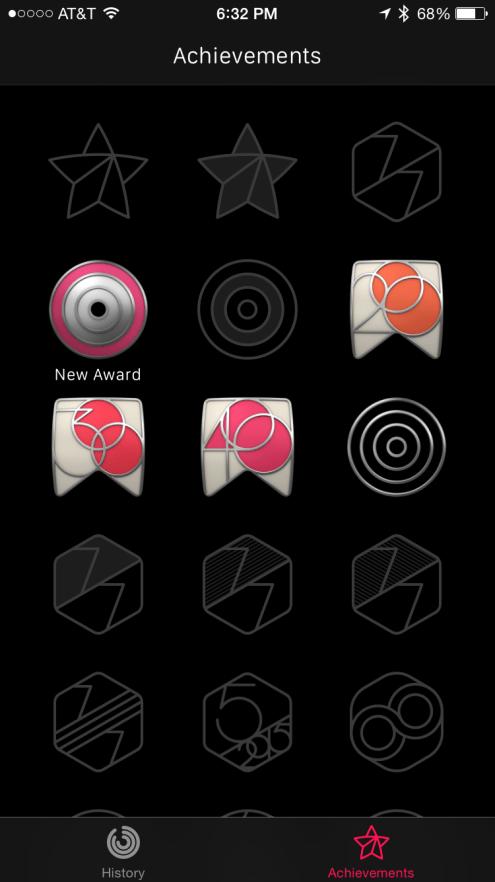Apple Watch Achievements