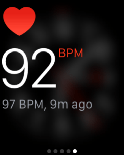 Apple Watch Glances 4