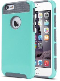 iphone-6-case-lumsinge284a2-hybrid-high-impact-double-layer-armor-defender-case-protective-cover-for-apple-iphone-6-4-7-inch-screen-with-screen-protector-2-in-1mint-green-grey-e1431439695217