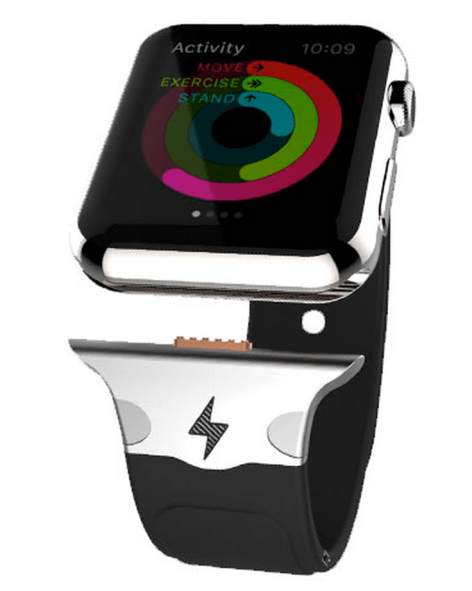 Accessory makers plan to tap Apple Watch's hidden port for battery straps, faster charging