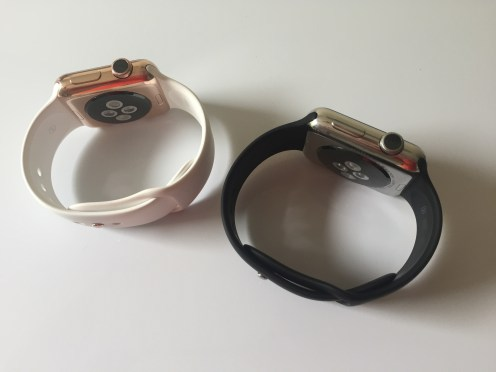 Apple Watch rose gold Watch Plate 1