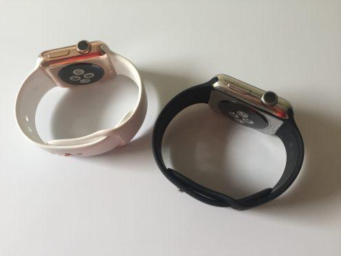 Apple Watch rose gold Watch Plate 1