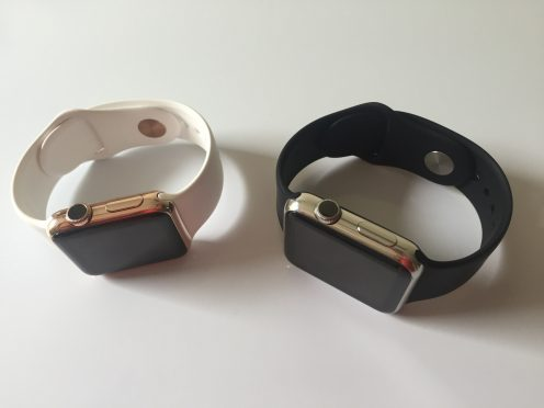 Apple Watch rose gold Watch Plate 2