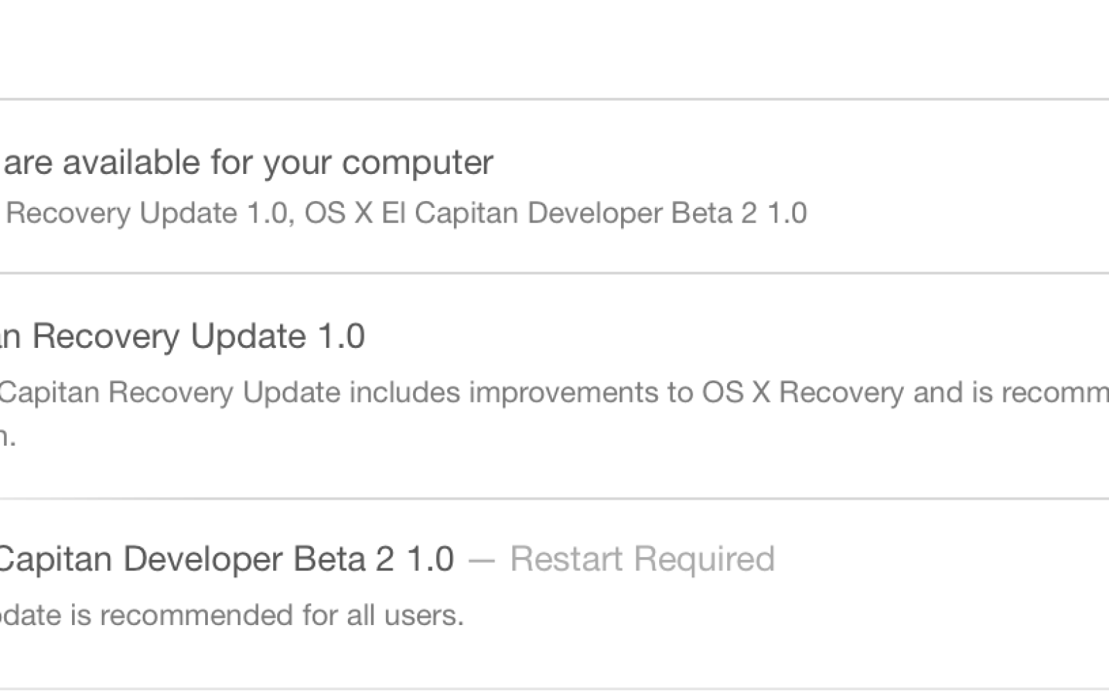 Apple releases OS X 10.11 El Capitan beta 2 to developers
