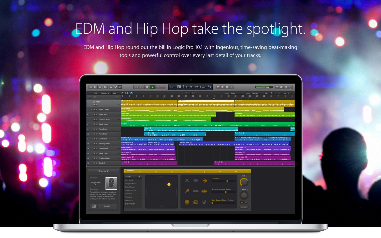 The Logic Pros: How to customize Logic's Drummer, beat-by-beat