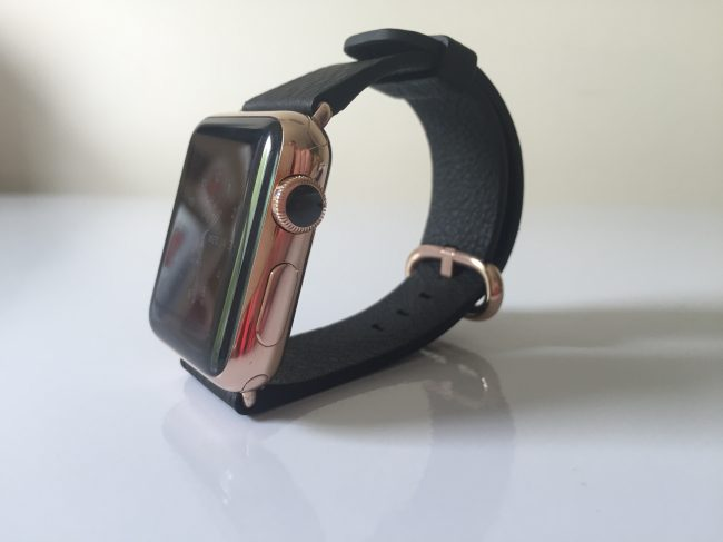 WatchPlate Apple Watch rose gold classic 3