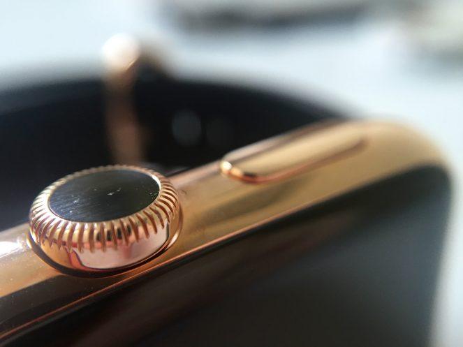 WatchPlate Apple Watch rose gold classic macro 1