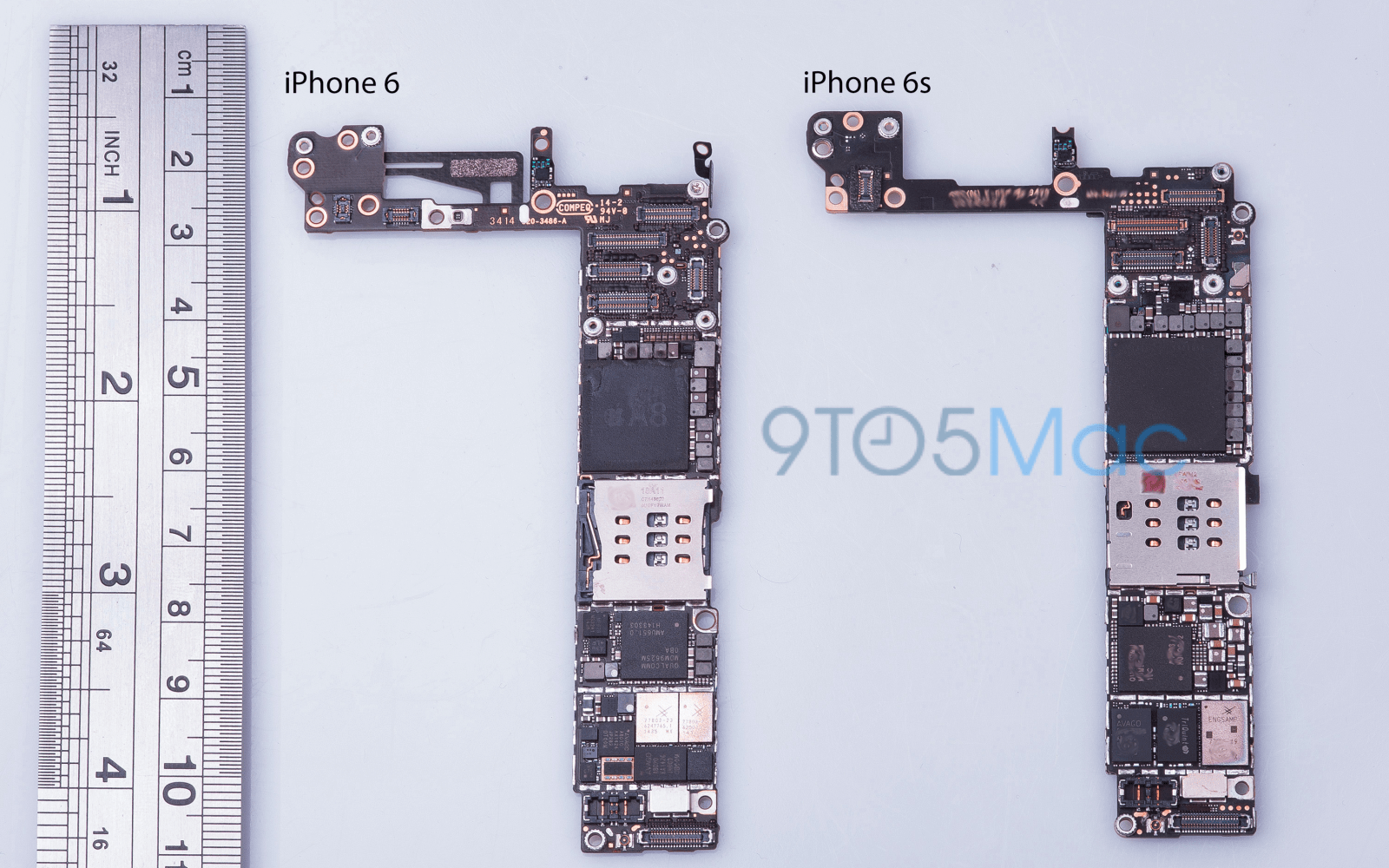 New iPhone 6S images show updated NFC, 16GB base storage, fewer chips +  design tweaks