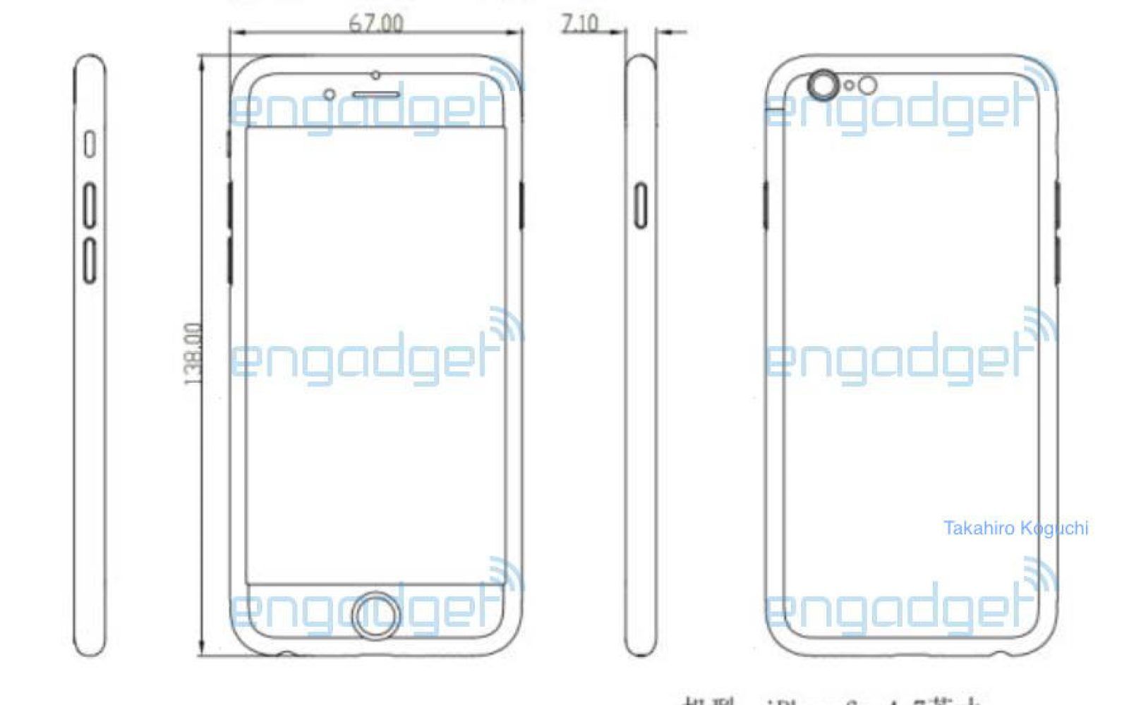 Claimed Iphone 6s Schematic Matches Our Report Of Minimal Exterior 3 Circuit Diagram Changes