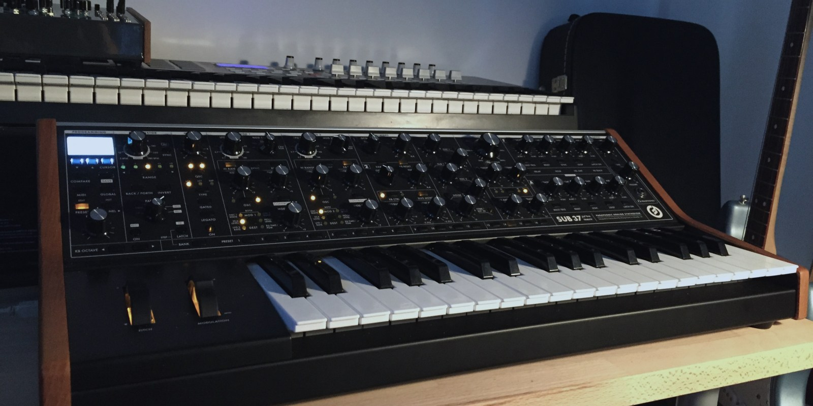 The Logic Pros: Moog Sub 37 is one of the best hardware synths for the money