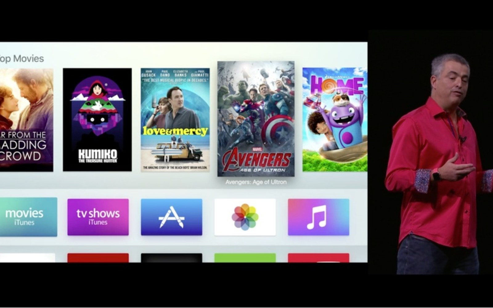 Tim Cook: Apple will offer an Apple TV API to open up universal search beyond initial launch partners