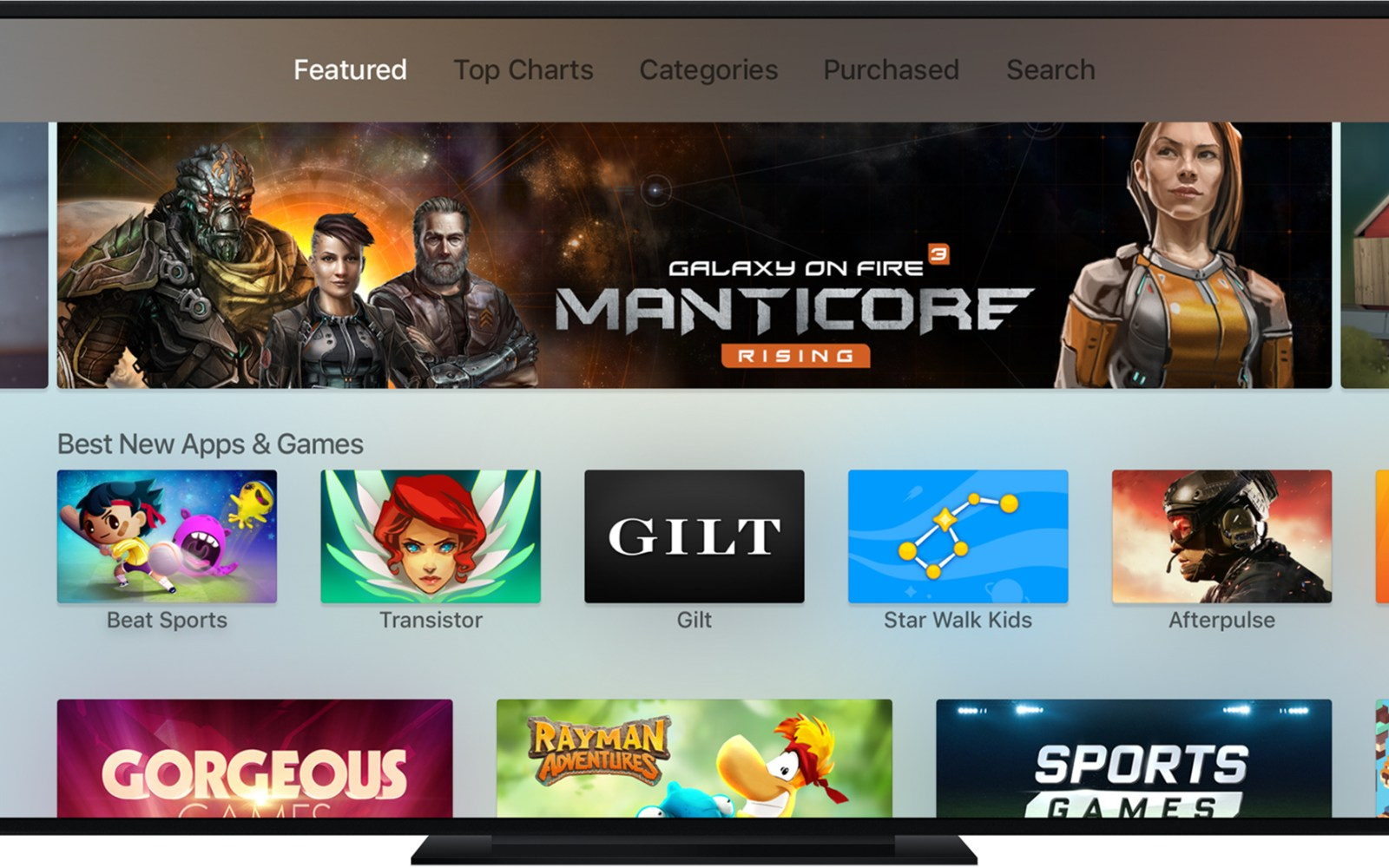 Early tvOS App Store sales charts show popularity of games, app prices substantially higher than iOS