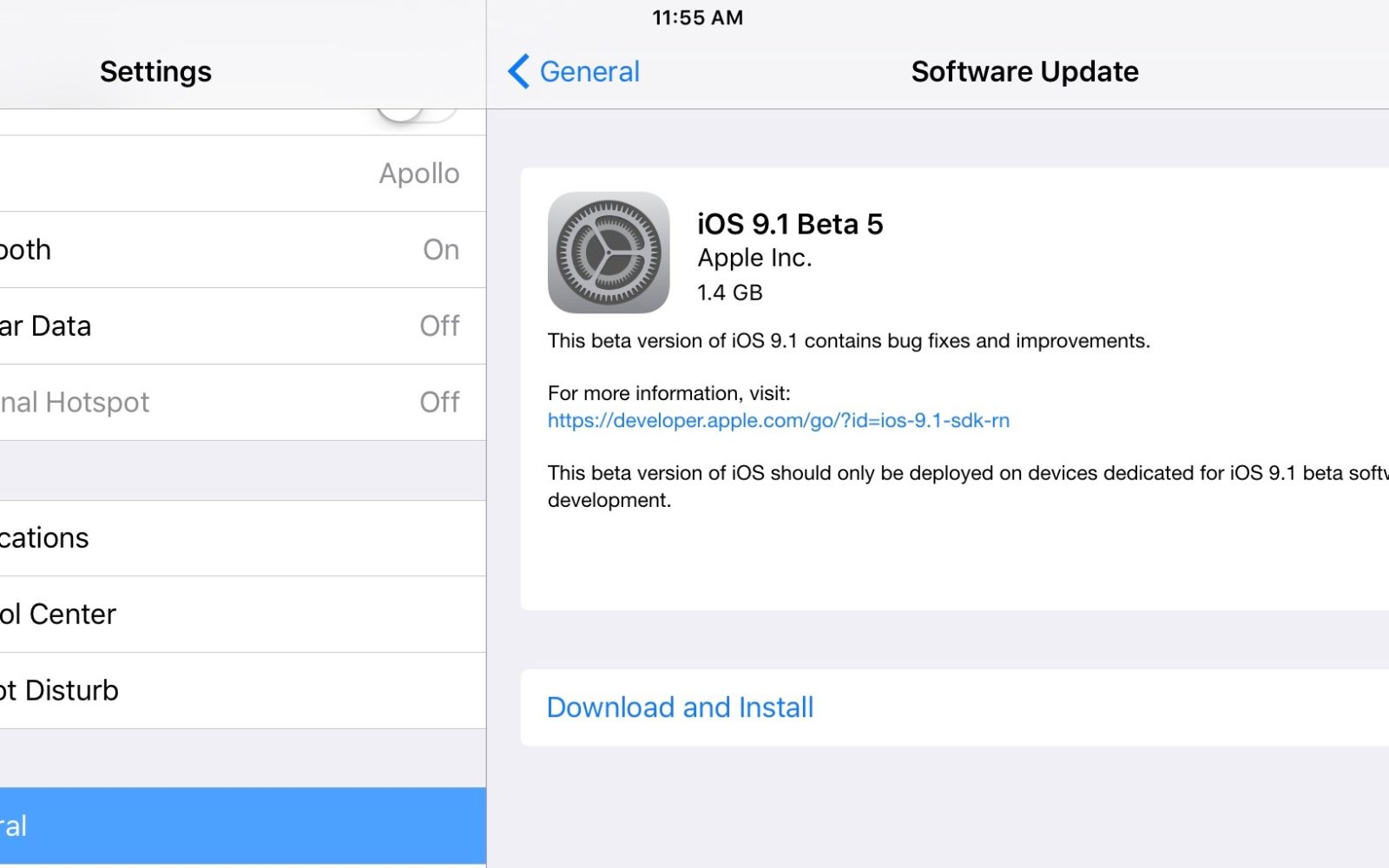 Apple releases iOS 9 1 beta 5 for developers and public beta