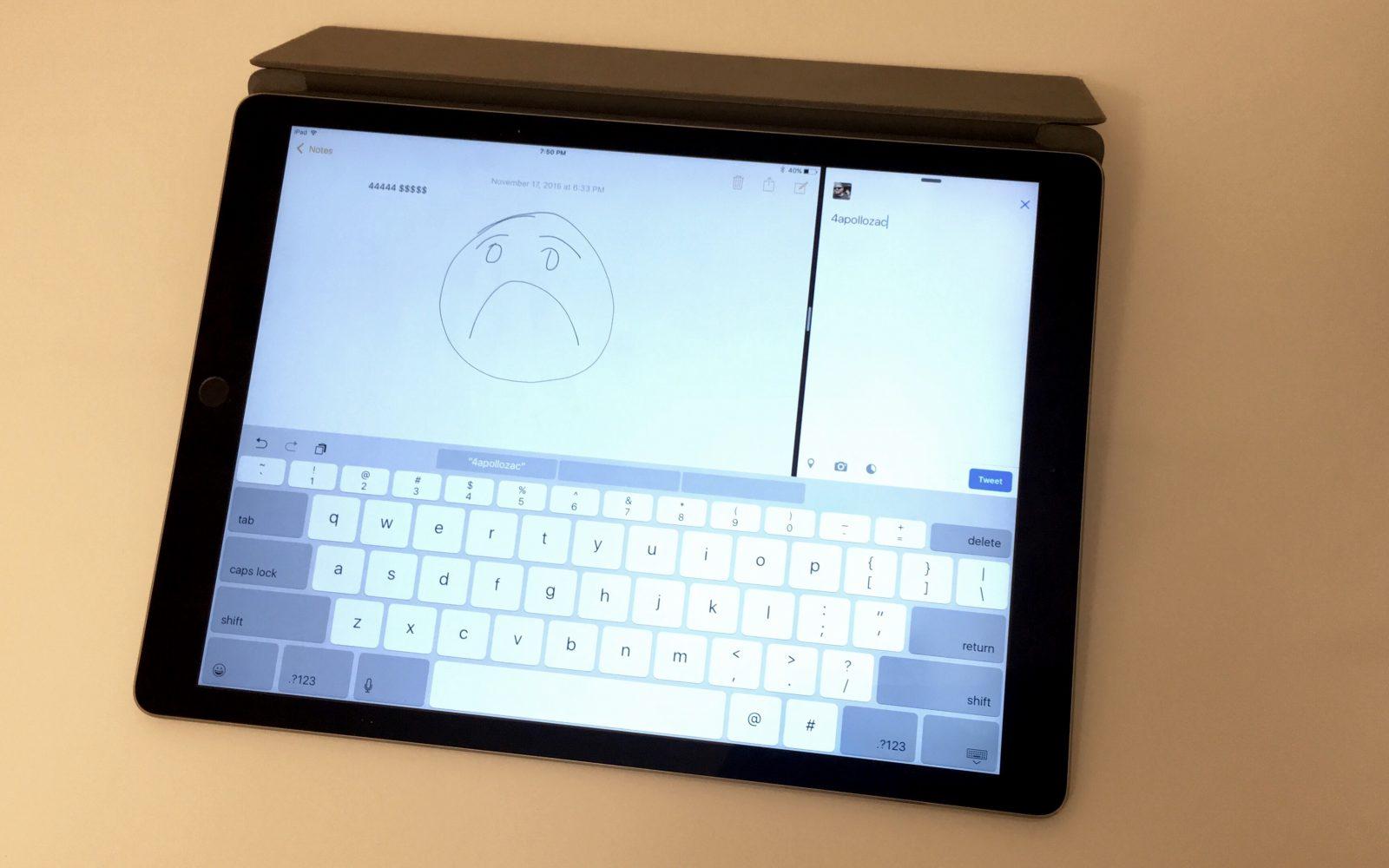 Ipad Pros Keyboard Has An Annoying Shift Key Bug Heres How To Fix