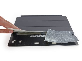 Opening up the Smart Keyboard essentially destroys it