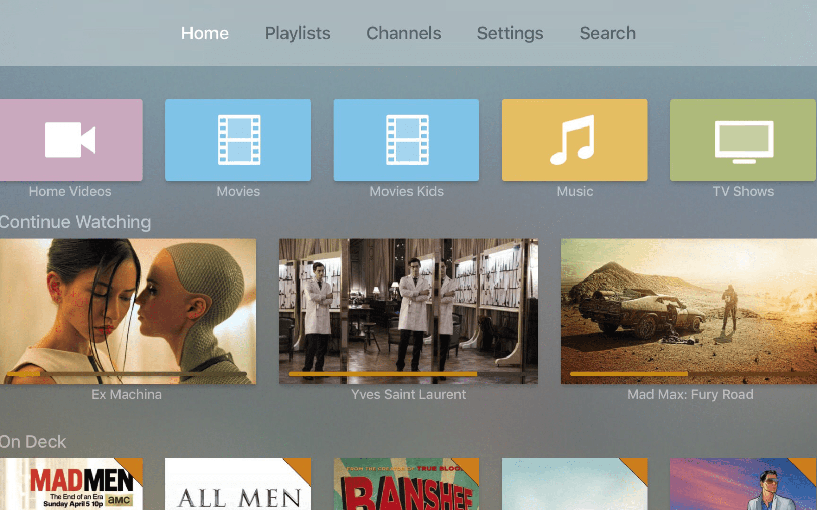 Official Plex app for Apple TV now available, offers local