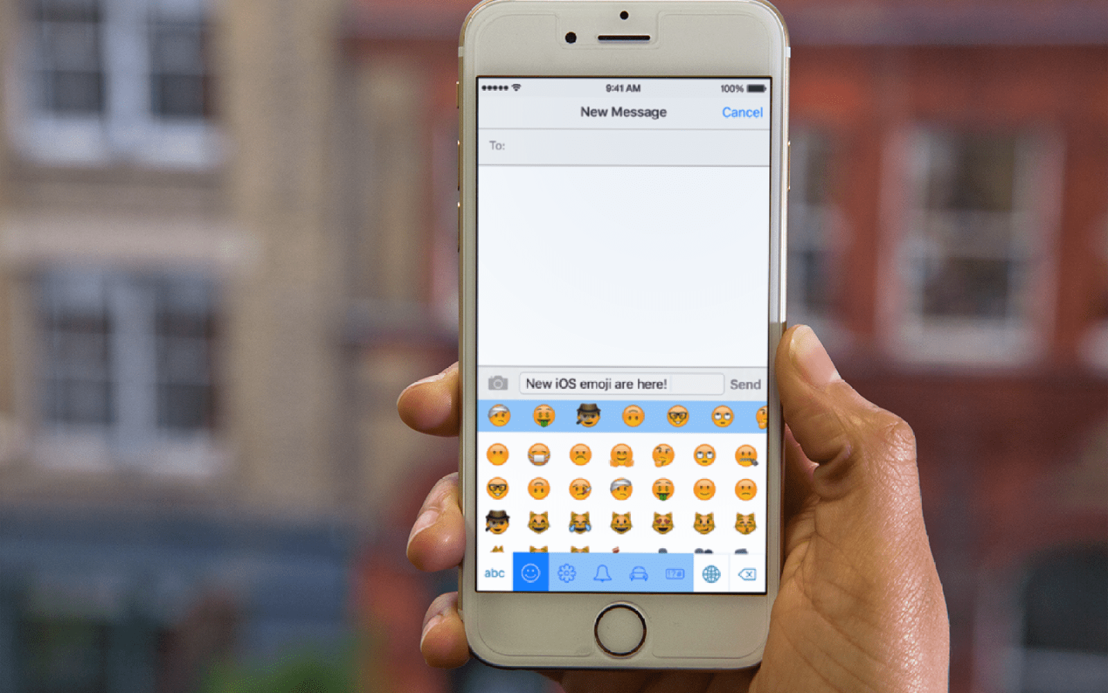 SwiftKey updated with complete set of new emoji for iOS 9 1