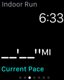 Apple Watch Current Pace