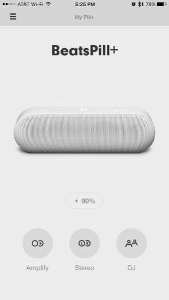 Beats Pill+ app 1