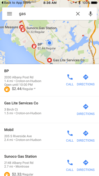 Google Maps for iOS gains up-to-date gas prices, por ... on gun control map, gasoline price map, jobs map, gas price increase reasons, world news map, diesel prices map, google map, crime map, travel map, gas price change, china map, maps map, california map, gas tank parts, rent prices map, cheapest gas map, birthrate map, gas production map, gas distribution map, gas price forecast,